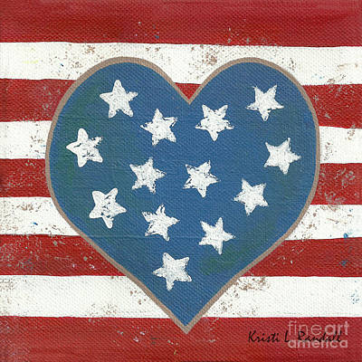 Painting - American Love by Kristi L Randall