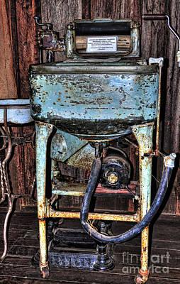Vintage Washing Machine Photograph - American ' Maytag ' Washing Machine - Circa 1930 by Kaye Menner
