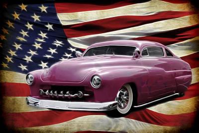 1949 Merc Photograph - American Merc by Steve McKinzie