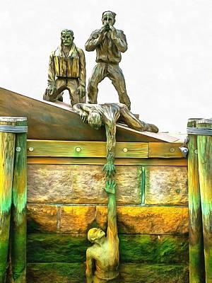 Photograph - American Merchant Mariners Memorial by Mick Flynn