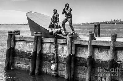 Photograph - American Merchant Mariners Memorial New York City by Anthony Sacco
