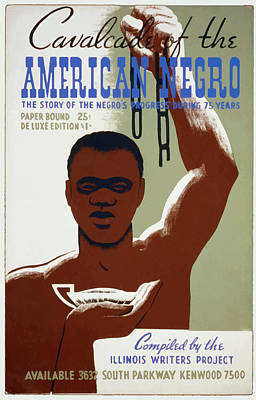 Art Print featuring the painting American Negro by American Classic Art