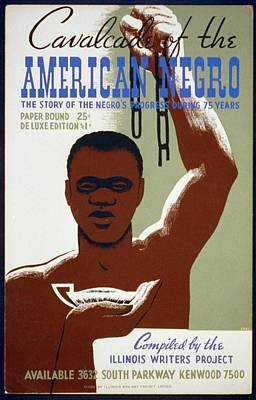 American Negro Print by Unknown