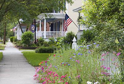 Photograph - American Neighborhood by Jill Lang