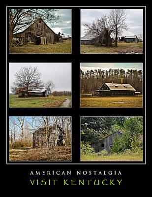 Photograph - American Nostalgia - Visit Kentucky by Greg Jackson