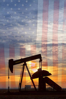 Photograph - American Oil 2 by James BO Insogna