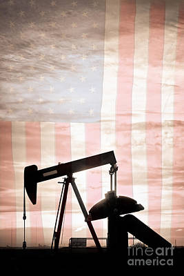 Photograph - American Oil Well by James BO Insogna