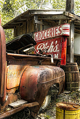 Handlebar Photograph - American Pickers by Peter Chilelli