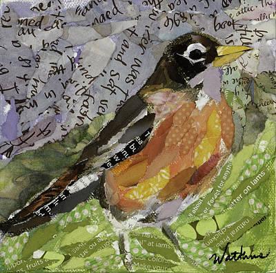 American Robin Original by Beth Watkins