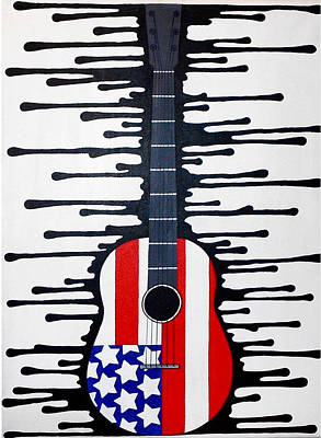 American Rock Original by Allison Liffman