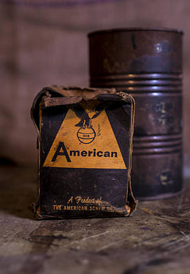 Photograph - American Screw by Andrew Pacheco