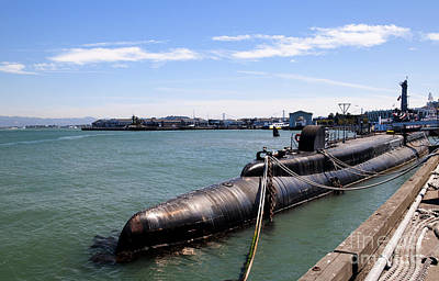 Photograph - American Submarine by Brenda Kean