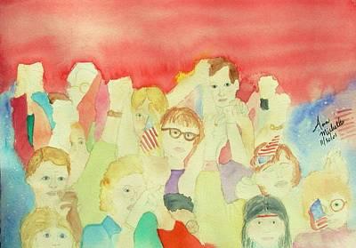 American Unity Art Print