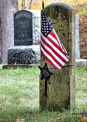 Photograph - American Veteran by Janice Drew