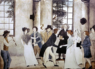 Photograph - American Wedding, C1805 by Granger