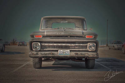 Truck Photograph - Americana by Brian Lea