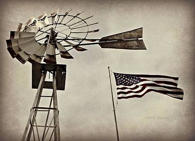 Photograph - Americana by Chris Berry