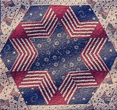 Photograph - Americana Design by Valerie Garner