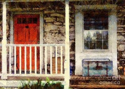 Fieldstone Photograph - Americana by Janine Riley