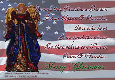 Photograph - Americana Military Christmas 2 by Robyn Stacey