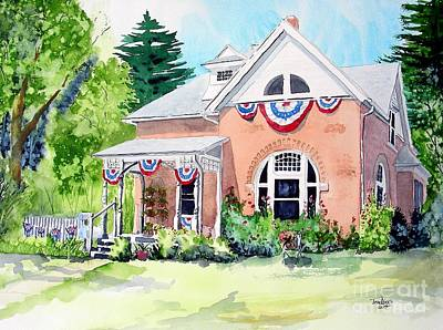 Fort Collins Painting - Americana by Tom Riggs