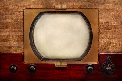 Photograph - Americana - Tv - The Boob Tube by Mike Savad