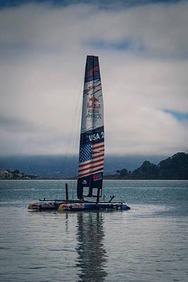 Redbull Photograph - Americas Cup San Francisco 2013 by Carlos Cano