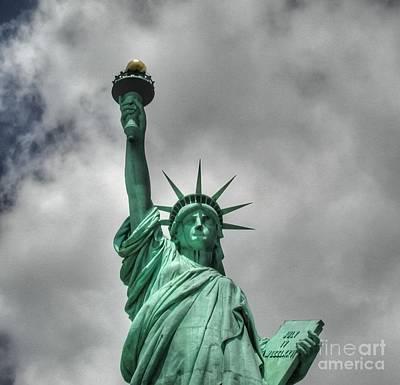 America's Lady Liberty Art Print