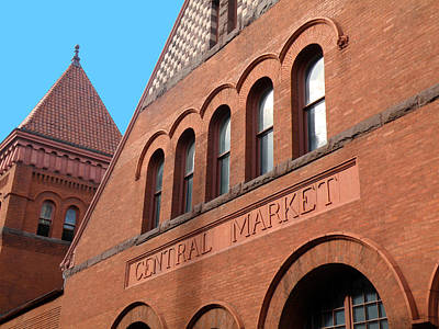 America's Oldest Farmers' Market Art Print