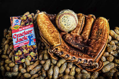 Cracker Jacks Photograph - America's Pastime by Ken Smith