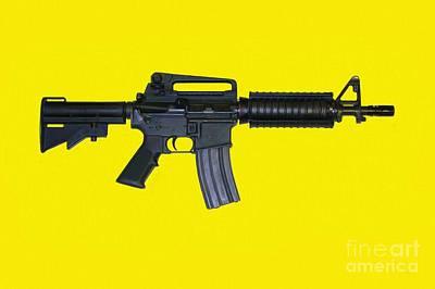 M 16 Painting - America's Rifle by Jonas Luis