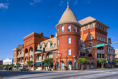 Photograph - Americus Windsor Hotel - Victorian Grandeur In Georgia by Mark E Tisdale