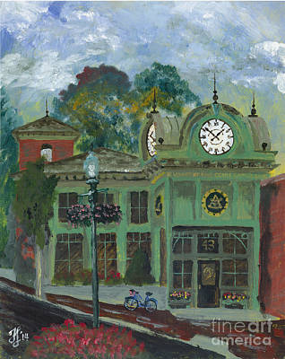 Painting - Amesbury Main Street  by Francois Lamothe