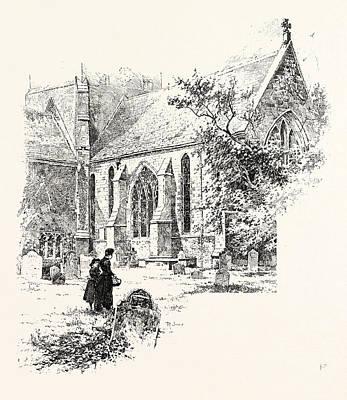 Amesbury The Chancel Print by English School