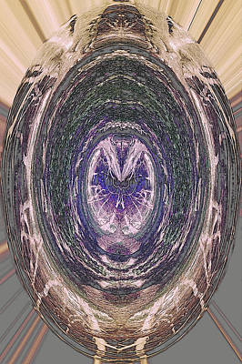 Photograph - Amethyst Centered by Jodie Marie Anne Richardson Traugott          aka jm-ART