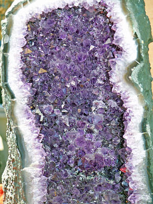 Amethyst Geode Art Print by Tikvah's Hope