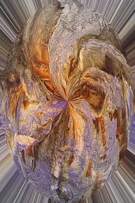 Photograph - Amethyst Interspersed by Jodie Marie Anne Richardson Traugott          aka jm-ART