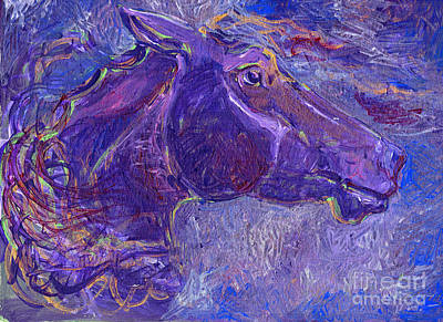 Painting - Amethyst by Linda L Martin