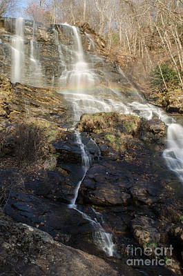 Photograph - Amicalola Falls  Rainbow by Donna Brown
