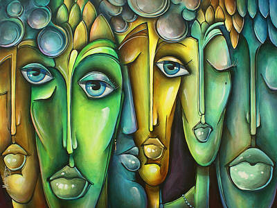 Animated Painting - 'amicis' by Michael Lang
