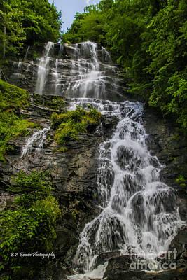 Photograph - Amicola Falls by Barbara Bowen