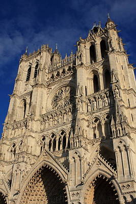 Photograph - Amiens Cathedral France by Aidan Moran