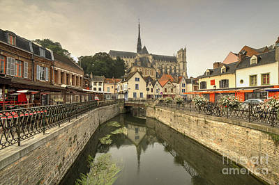 Beer Blueprints - Amiens Reflections  by Rob Hawkins