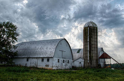 Amish Barn Art Print
