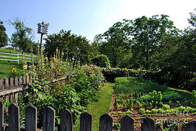 Garden Photograph - Amish Country 17 by Pittsburgh Photo Company