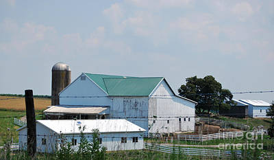 Barn Photograph - Amish Country 29 by Pittsburgh Photo Company