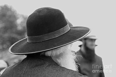 Photograph - Amish Faces by Mary Carol Story