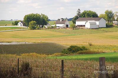 Photograph - Amish Farm 1 by Mary Carol Story