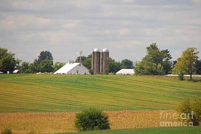 Photograph - Amish Farm 2 by Mary Carol Story