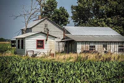 Ethridge Photograph - Amish Farm In Tennessee by Kathy Clark